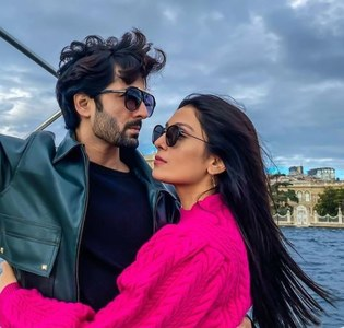 Ayeza Khan and Danish Taimoor's Travels in Turkey