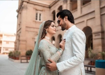 Minal Khan & Ahsan Ikram's Star Studded Engagement: In Pictures