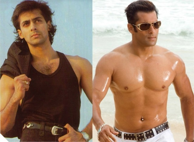 Image result for salman khan before after body