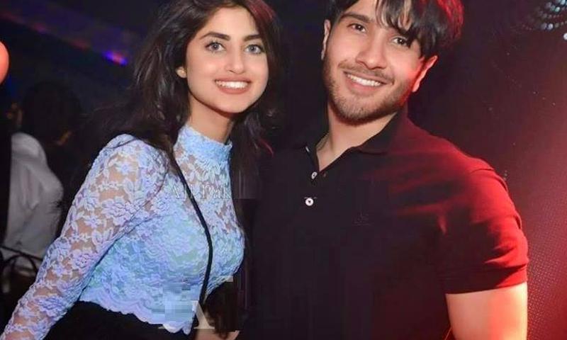 Sajal Ali boyfriend pic Feroze Khan