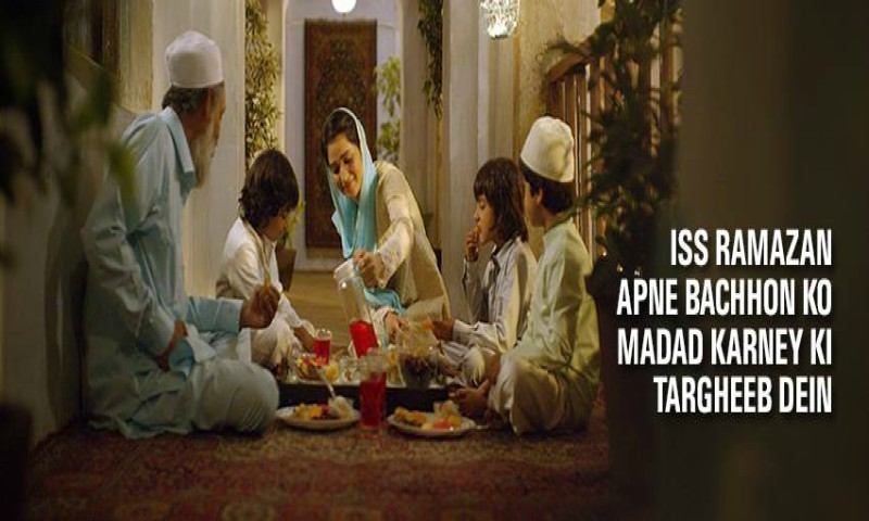 Unlike most ads, this TVC brings out the real essence of Ramazan.