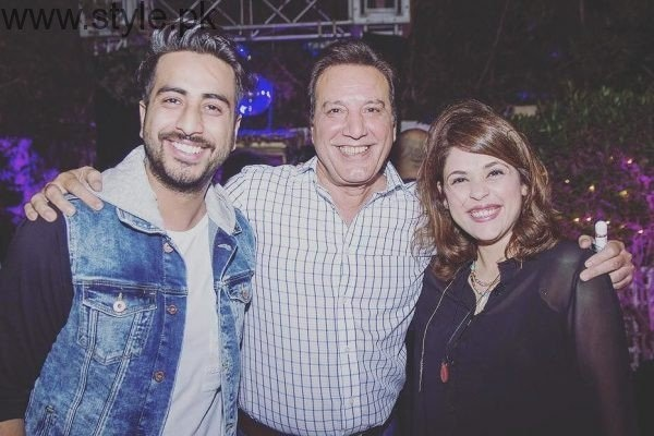 Javed Sheikh & Nabeel Qureshi flash smiles