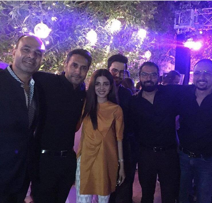 Sonya Hussain, Yasir Hussain, Deepak, Junaid, Nomi Ansari & Adnan Sidiqui. Squad Goals!