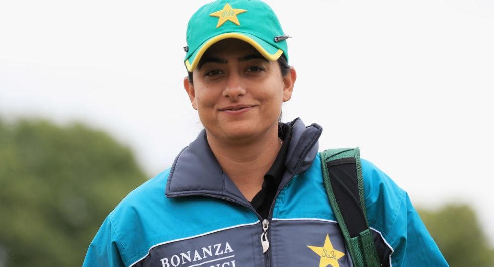 Sana Mir in ICC Women ODI Team of the Year!