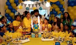 Nida and Yasir Nawaz have a blast on son Balaj's first birthday