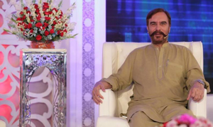 Ansar Burney visited Maya Khan show
