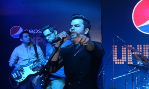Zarmad Baig and 'Call' rocked it at 'Unplugged' in Lahore
