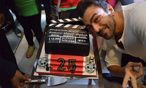 Shaan celebrates 25 years in cinema with 'Arth 2' shoot