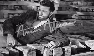 Who's the face for Amir Adnan's winter collection?