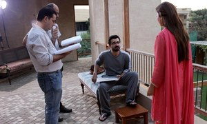 On the sets of HUMTV's 'Mann Mayal'