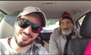 Ahsan Khan found the missing homeless man again
