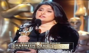 And the Oscar (again) goes to Sharmeen Obaid Chinoy for 'A Girl in The River'