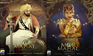 'Mor Mahal' maintains its extravaganza feel in the teasers!