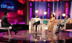Ali Saleem is back! This time with 'The Late Late Show'