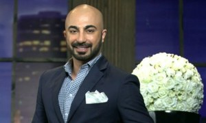 HSY styles 'Aunty Pashmina' - a character in US-based children's TV show