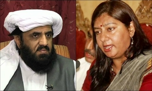 FIR lodged against Hafiz Hamdullah for threatening Marvi Sirmed