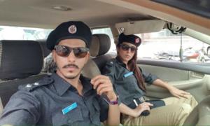 Ushna Shah and Mohsin Abbas pair up for Jhoot Wala Love