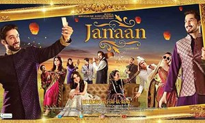 Janaan's second poster reveals a happy, shiny family
