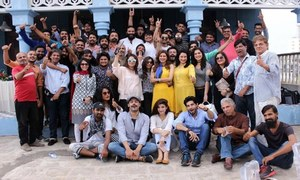 What went down at the 'Meet and Greet' session on the sets of Rangreza