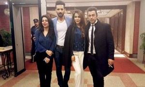 Shaan Shahid, Mohib Mirza and Humaima Malik head to London for Arth 2's shoot