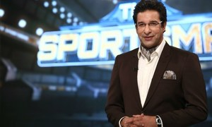 Wasim Akram is back with The Sportsman on Geo Super