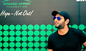 Get ready to read Shahid Afridi like a book!