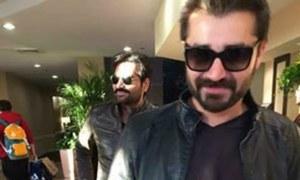 Hamza Ali Abbasi & Humayun Saeed head to the USA for a social cause