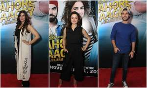 The fashion hits and misses at the Lahore se Aagey premiere