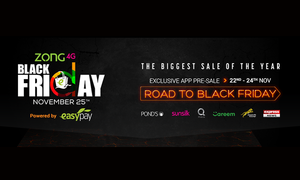 Daraz, Zong and Easypay all set to create a Digital Revolution with Black Friday 2016