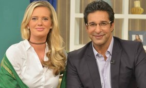 Wasim and Shaniera Akram to star in Salman Ahmed's music video