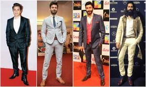 Top ten stylish male celebrities