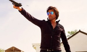 Sahir Lodhi looks like a wannabe SRK in Raasta's trailer