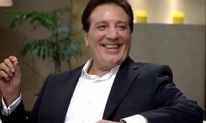 Javed Sheikh plays a businessman in Saach