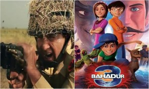 Box office report: 3Bahadur 2 and Saya e Khuda e Zuljalal