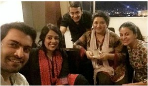 Yasra Rizvi and Abdul Hadi got engaged