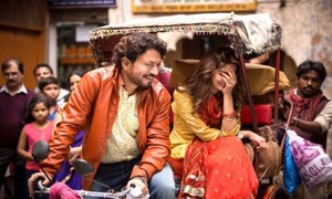 Saba Qamar and Irrfan Khan's chemistry looks vibrant in Hindi Medium's first look