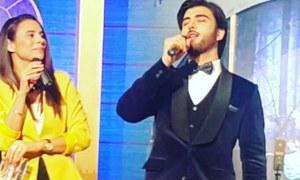 Imran Abbas all set to sing on PTV's upcoming musical show 'Raat Chali Hai Jhoom Ke'