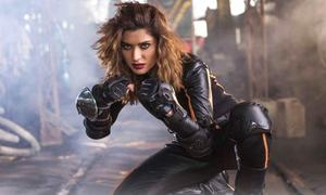Mehwish Hayat looks super hot as a superhero in the latest TVC