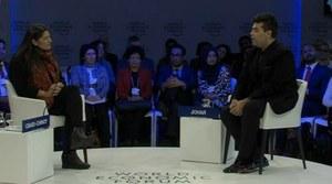 Karan Johar praises Sharmeen Obaid Chinoy at the World Economic Forum