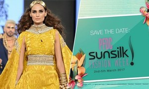 PFDC Sunsilk Fashion Week 2017 set to be bigger and better!