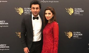 Mahira Khan and Ranbir Kapoor stand together for a global cause