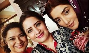 Sania Saeed and Atiqa Odho working together after 20 years