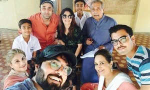 Yasir Hussain pens down his first TV script called Shaadi