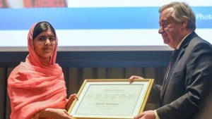 Leonardo DiCaprio And Others Congratulate Malala Yousufzai