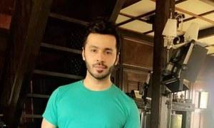 Saim Ali Shooting A Telefilm In Malaysia Called Kashmiri Babu