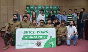Team 'Mirchi Headquarters' Wins Sprite Spice War