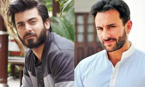 Saif Ali Khan Thinks Fawad Khan Is 'Exotic'