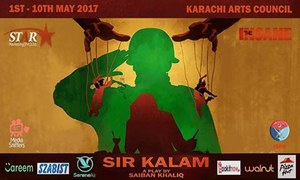 SIR KALAM All Set To Enthrall Audience From May 1st In Karachi