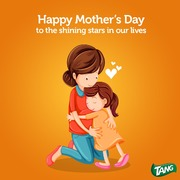 This mother's day, Tang helps you send a message to MOM!