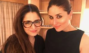 I was starstruck: Tena Durrani on working with Kareena Kapoor!